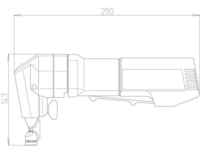 Габаритные размеры Trumpf N 160 E